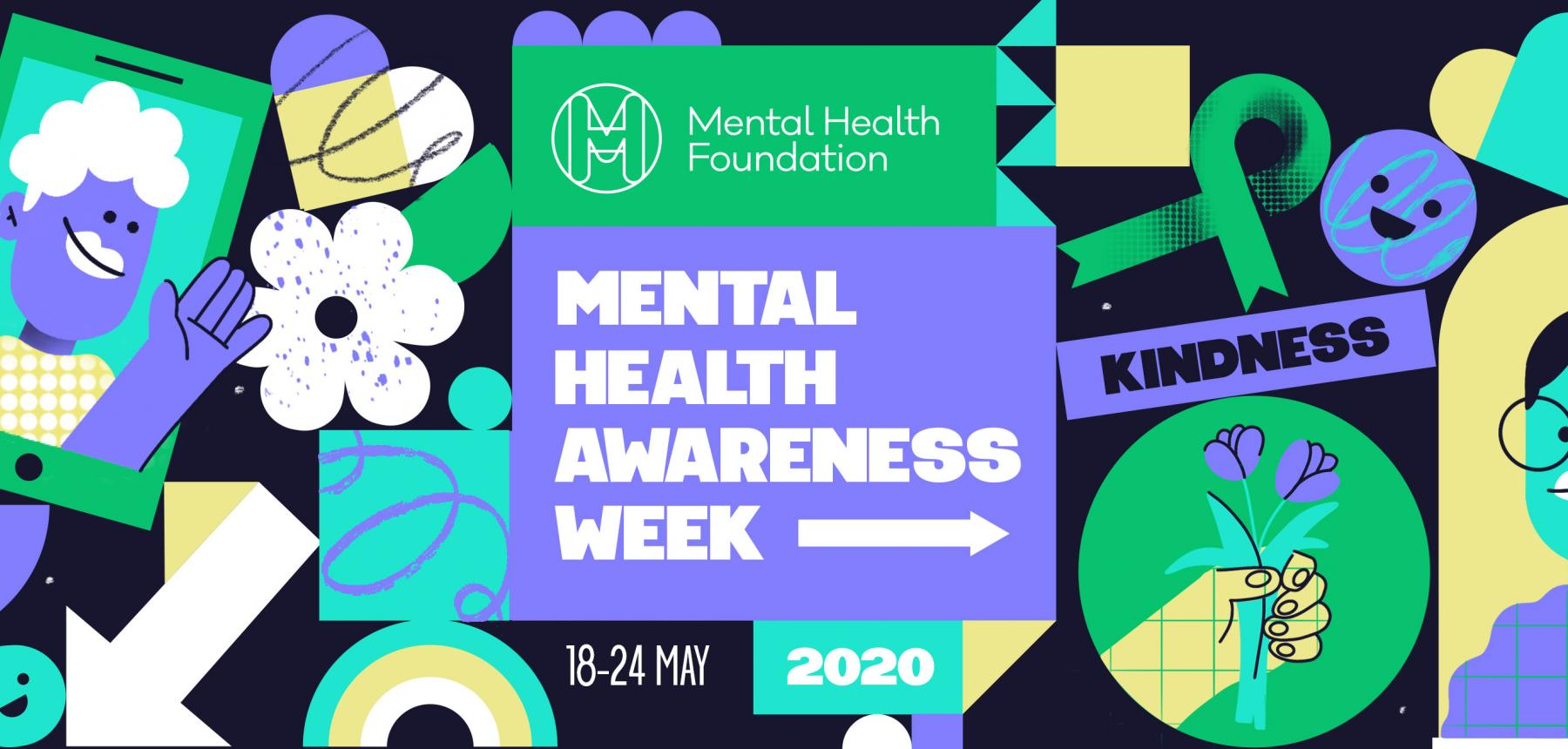 Mental Health Awareness Week 2020 Banner #KindnessMatters