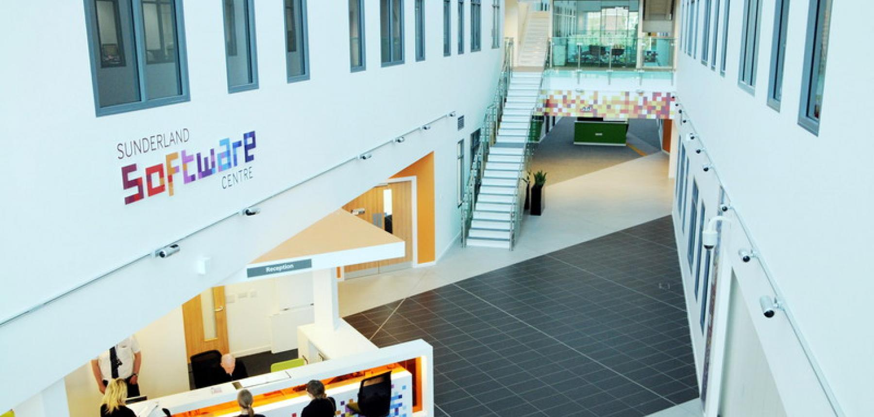 Picture of the Software Centre Entrance