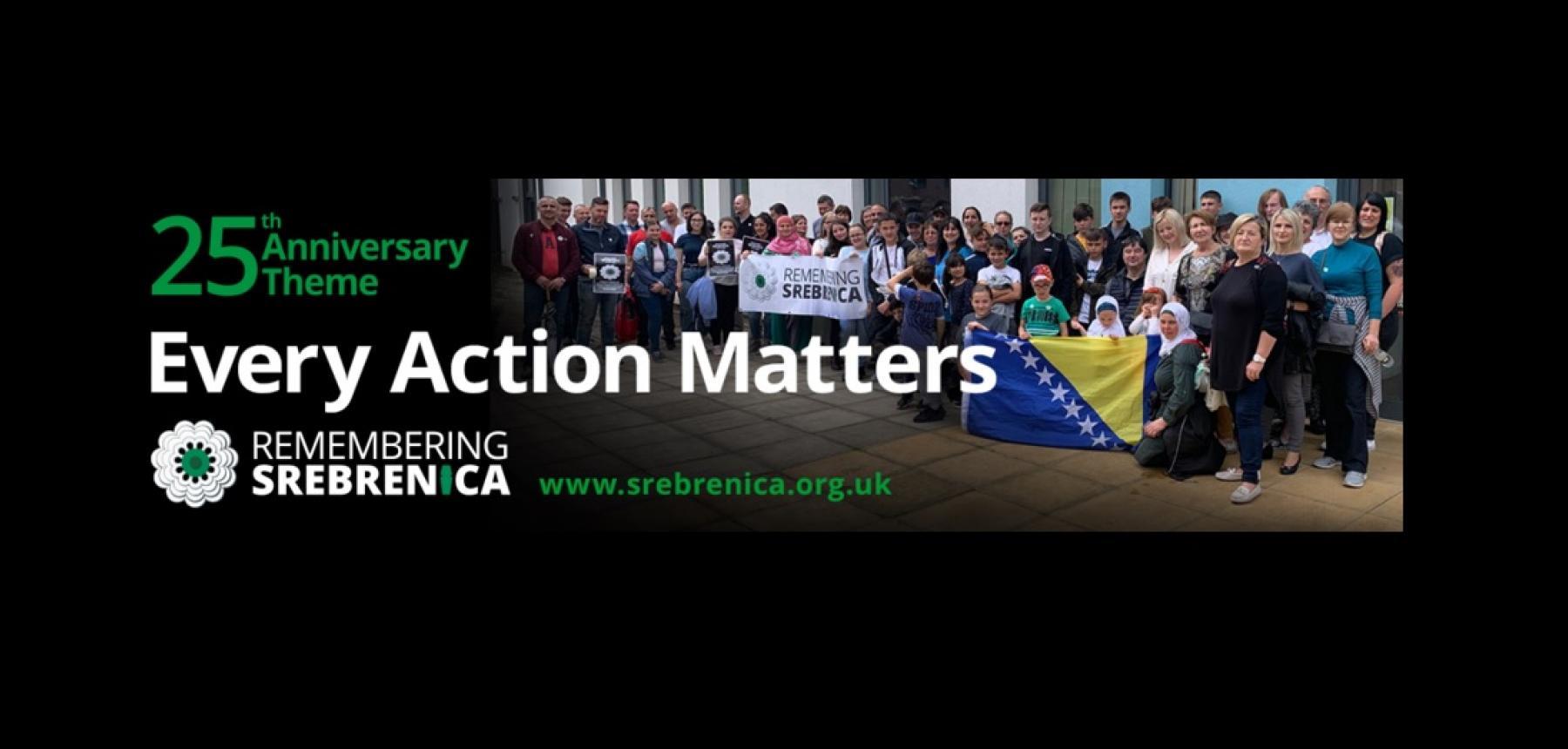 Remembering Srebrenica 2020 Campaign